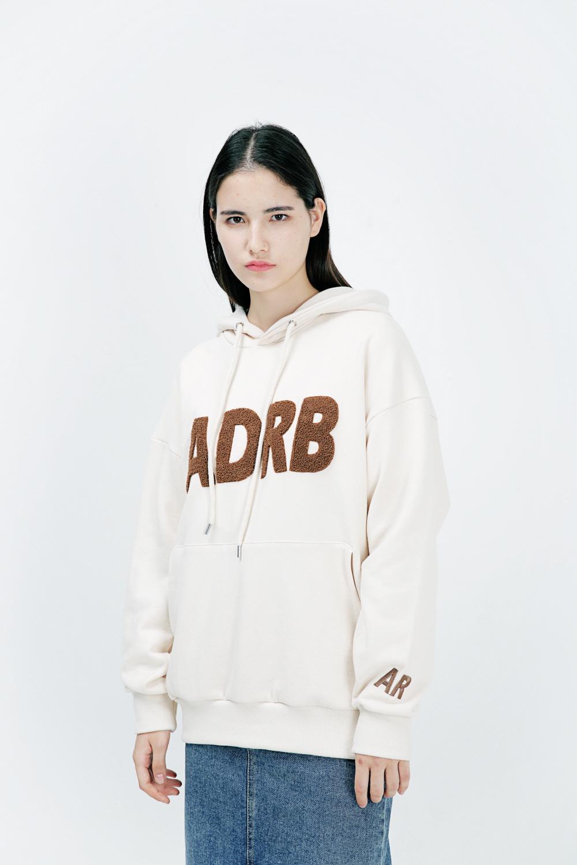 아더로브(ARDOROBE) ADRB LOGO 오버핏 후드티 AHD183001-BG