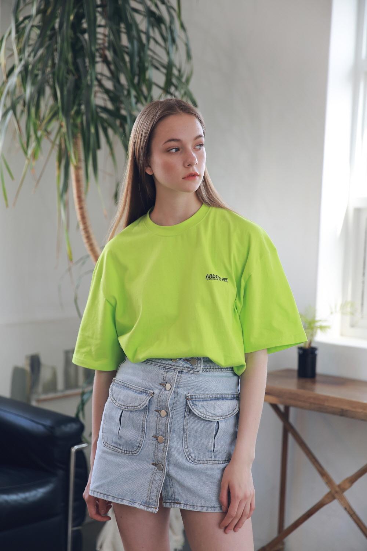 아더로브(ARDOROBE) 유니섹스 아일랜드 서클 티셔츠 ATS192004-LG