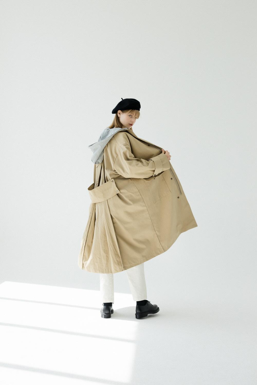[아더로브] 로고 자수 울 베렛 AAC193002-BK